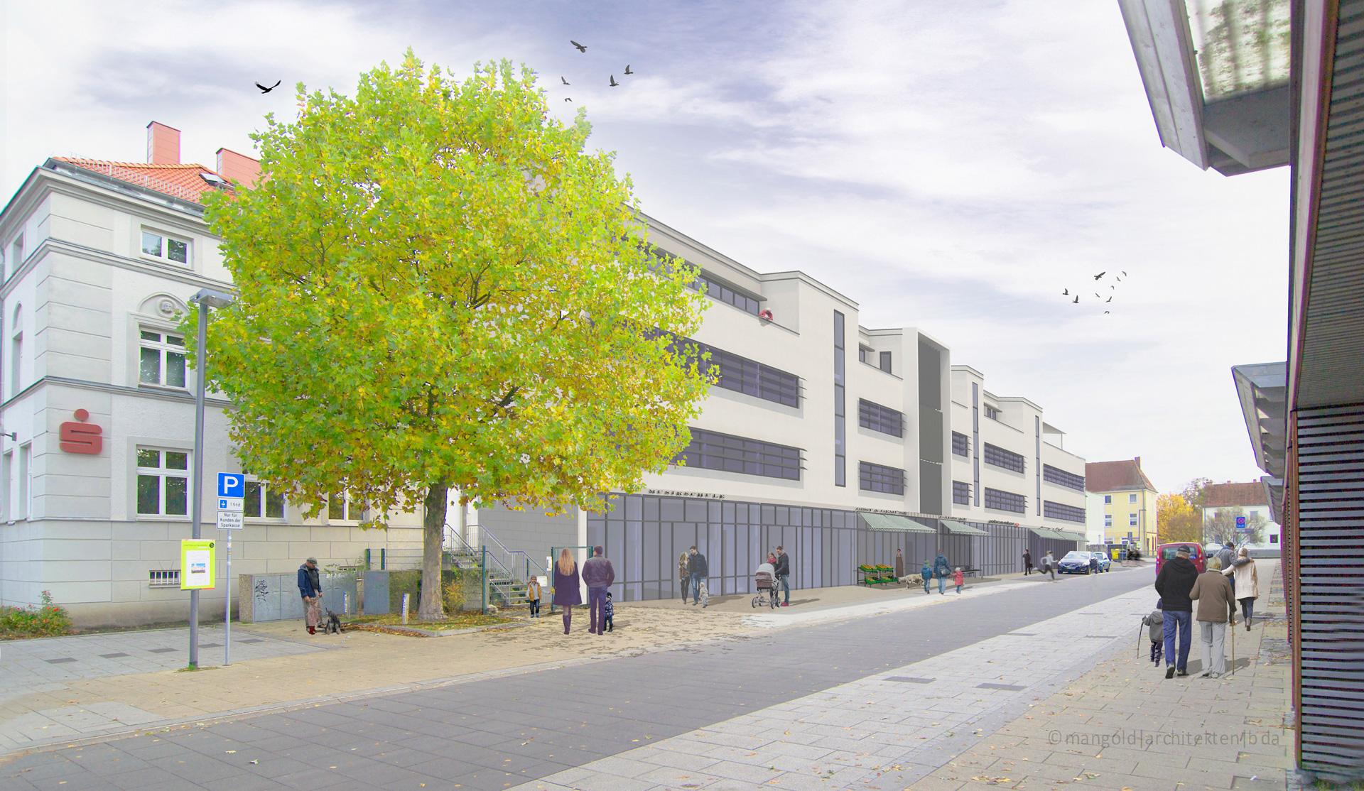 Bahnstrasse Falkensee Verwaltungs und Geschäftshaus